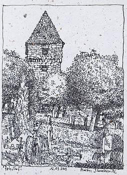 Martin Stankewitz - Kloster Maulbronn Hexenturm und Friedhof