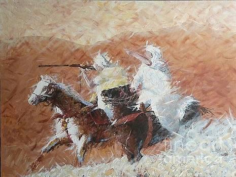 Knights by Djamel Adjimi