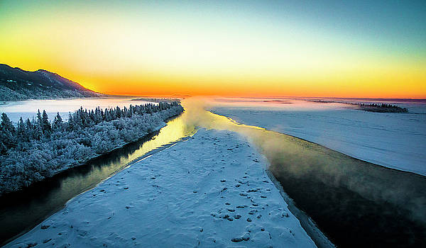 Knik River by Kyle Lavey