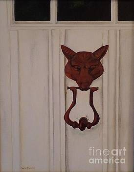 Knock  knock by Carla Dabney