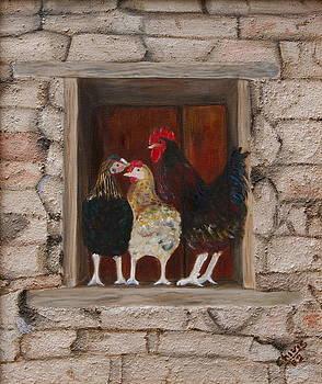 Knock-knock by Sylvia Riggs