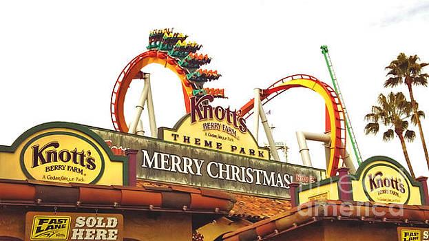 Knott's Berry Farm - Merry Christmas by Claudia Ellis