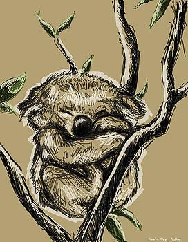 Koala Nap by Noemi N