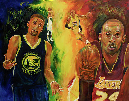 Kobe and Steph by Toblerusse