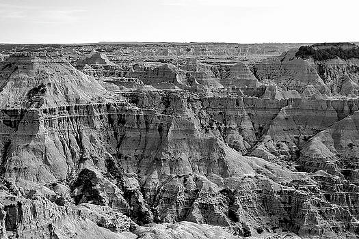 Kodak Point, Badlands, South Dakota by Kimberly Blom-Roemer