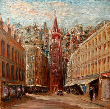 Koenigsberg Downtown by Alexander Bukhanov