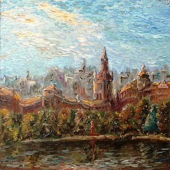Koenigsberg.Royal Castle by Alexander Bukhanov