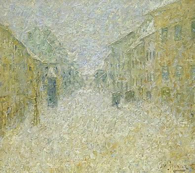 Kofja Loka V Snegu 1905 by Grohar Ivan