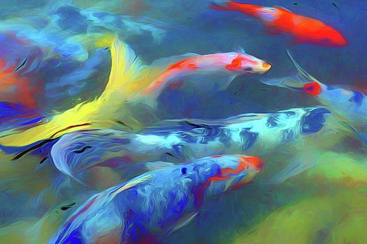 Nikolyn McDonald - Koi - Abstract