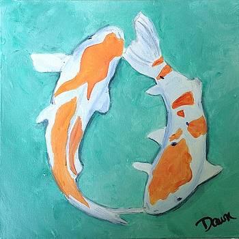 Koi by Dawn Dreibus