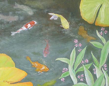 Koi Fish No 4 by Thi Nguyen
