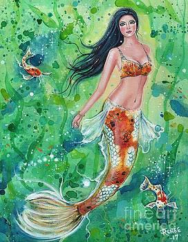 Koi Mermaid Garden by Renee Lavoie