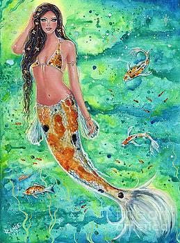 Koi Mermaid  by Renee Lavoie