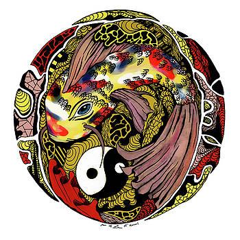 Koi of Balance by Kenal Louis