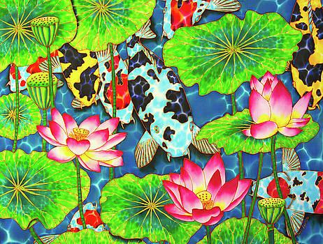 Koi Pond by Daniel Jean-Baptiste