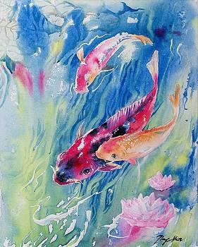 Koi Pond by Ping Yan