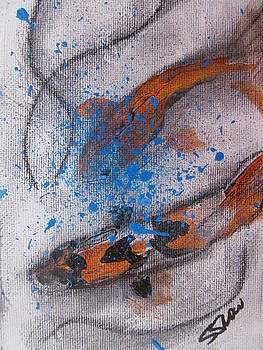 Koi by Susan Snow Voidets