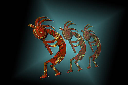 Kokopelli by Carol and Mike Werner