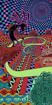 Kokopelli Nights by Sam Bernal
