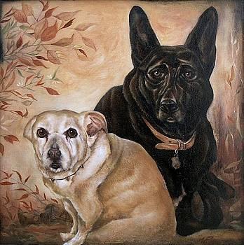 Kona and Teddy by Michael Ryan