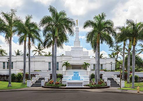 Kona Hawaii Temple-Day by Denise Bird