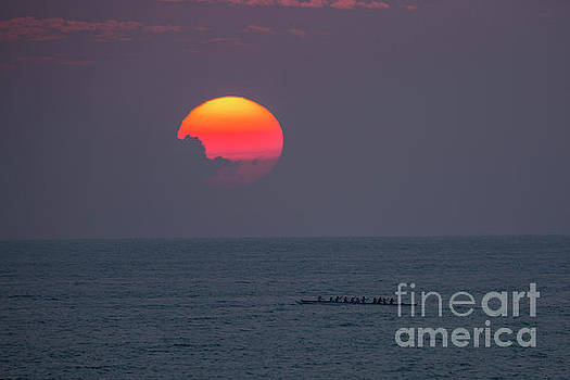 Kona Sunset 1 by Daniel Knighton