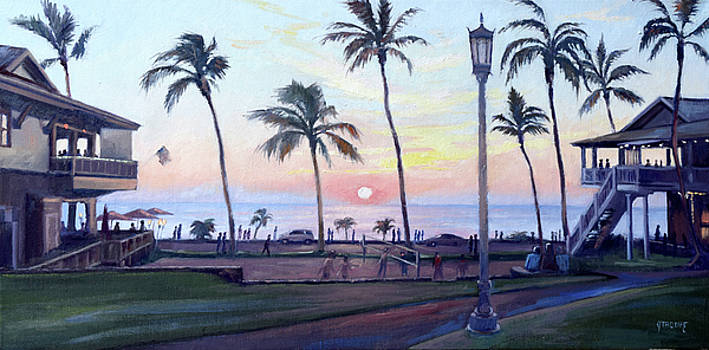 Kona Sunset by Jeff Troupe