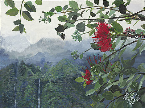 Koolau Ohia Lehua by Wendy Roberts