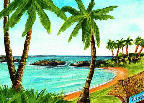 Koolina lagoon Oahu, Hawaii #343 by Donald k Hall