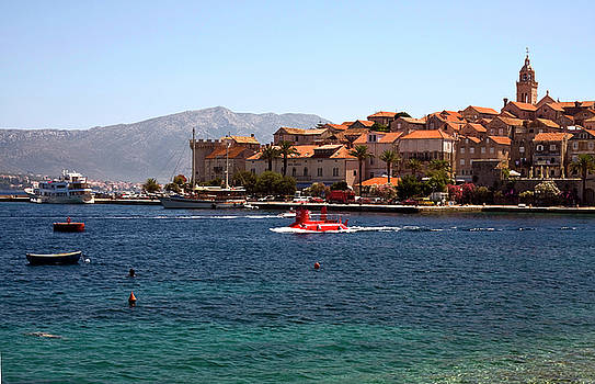 Korcula Coast by Sally Weigand