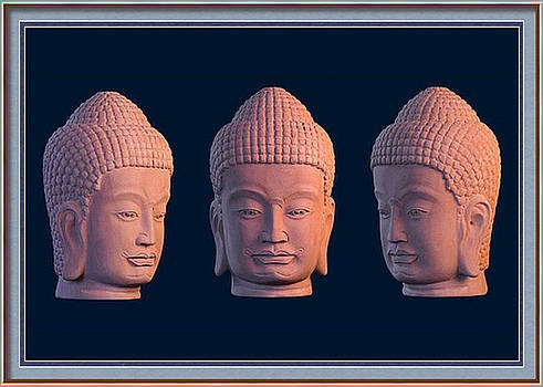 Khmer Greeting Card 2 by Terrell Kaucher