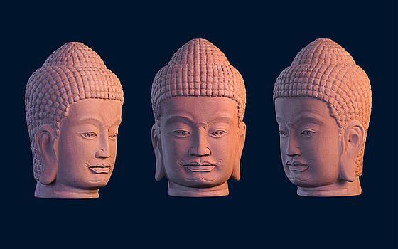 Khmer Cool Back  by Terrell Kaucher