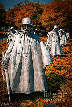 Korean War Veterans Memorial #5 by Julian Starks