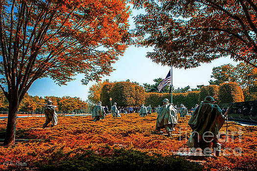 Korean War Veterans Memorial #6 by Julian Starks