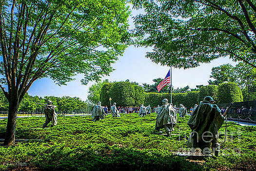 Korean War Veterans Memorial #8 by Julian Starks