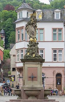 Teresa Mucha - Kornmarkdt Madonna Fountain Heidelberg