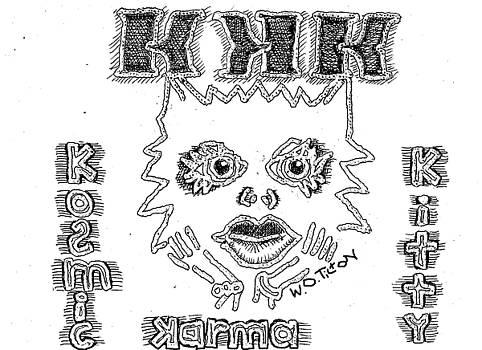 Kosmic Kitty Karma by William Tilton