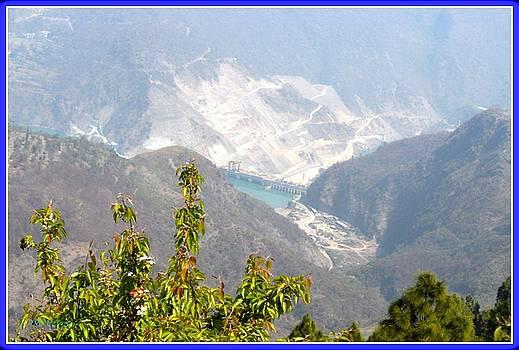 Koteshwar Dam by Sonali Gangane