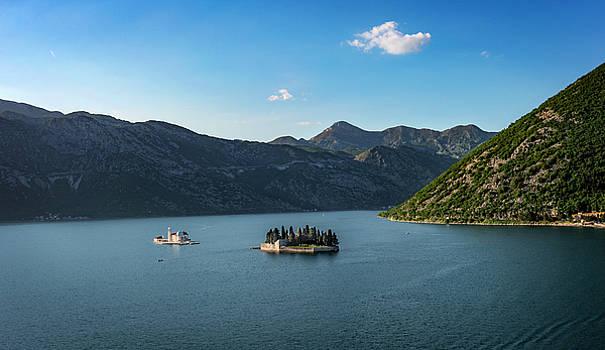 Kotor Bay, Montenegro by Alida Thorpe