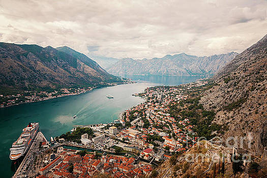 Kotor city in Montenegro by Sophie McAulay