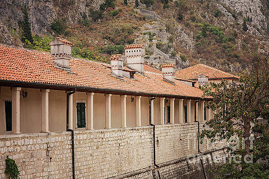 Kotor covered corridor by Sophie McAulay