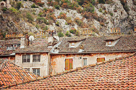 Kotor historic architecture by Sophie McAulay
