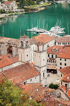 Kotor old town and harbor by Sophie McAulay
