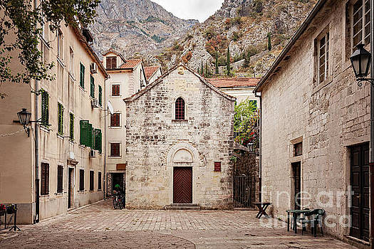 Kotor old town architecture by Sophie McAulay
