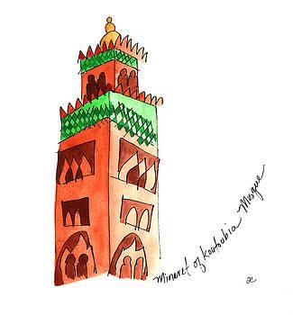 Anna Elkins - Koutoubia Mosque 1