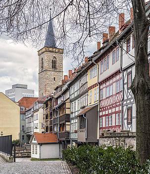 Kraemerbruecke Erfurt by Thomas Schreiter