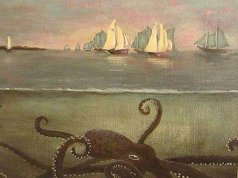 Kraken After Homer by Christina Glaser