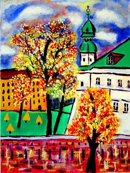 Krakow Kazimierz Monastery by Ted Hebbler