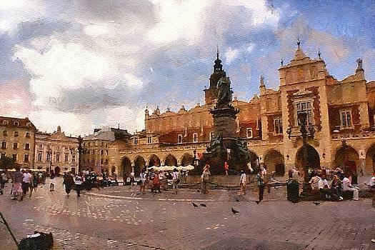 Krakow main market by Boguslaw Florjan