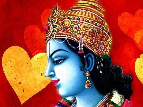 Krishna Love by Khalil Art